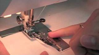 How to do a Rolled Hem on Sewing Machine
