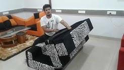 Sofa Cum Bed Foldable N Washable Sofa Cum Bed For 9999/- WatsAp 9833877482