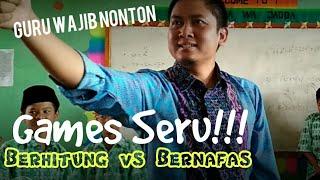 ICE BREAKING SERU #1 PERMAINAN DI KELAS GAME BERHITUNG VS BERNAFAS
