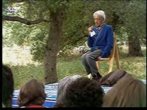 J. Krishnamurti - Beyond Myth & Tradition 9 - The Violent self