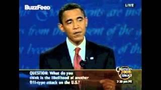 Obama 2008 Debate promise: I