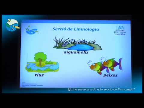 30anys 2a sessio: Limnologia