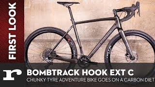 Bombtrack Hook EXT C - Chunky tyre adventure bike goes on a carbon diet