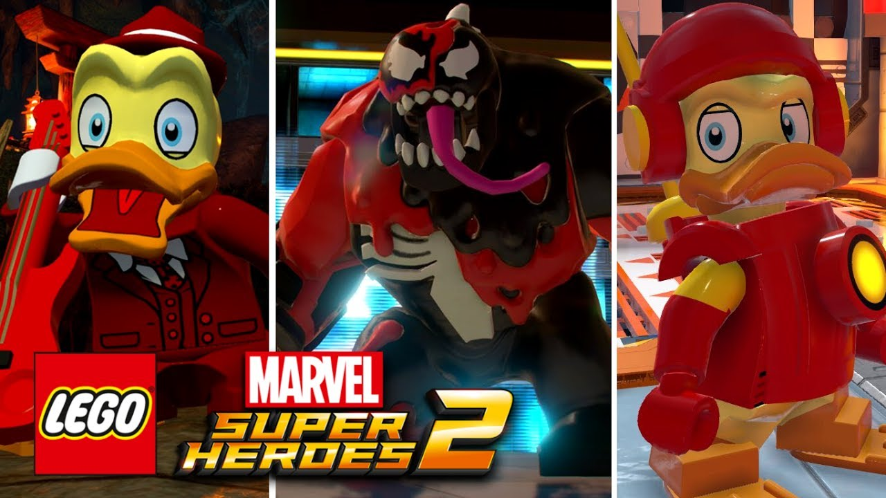 LEGO Marvel Super Heroes 2 - Carnom, Howard The Duck ...