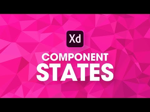 NEW FEATURE! Component States in Adobe XD