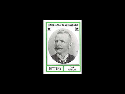 Cap Anson's Hits: Just How Many Did He Get?
