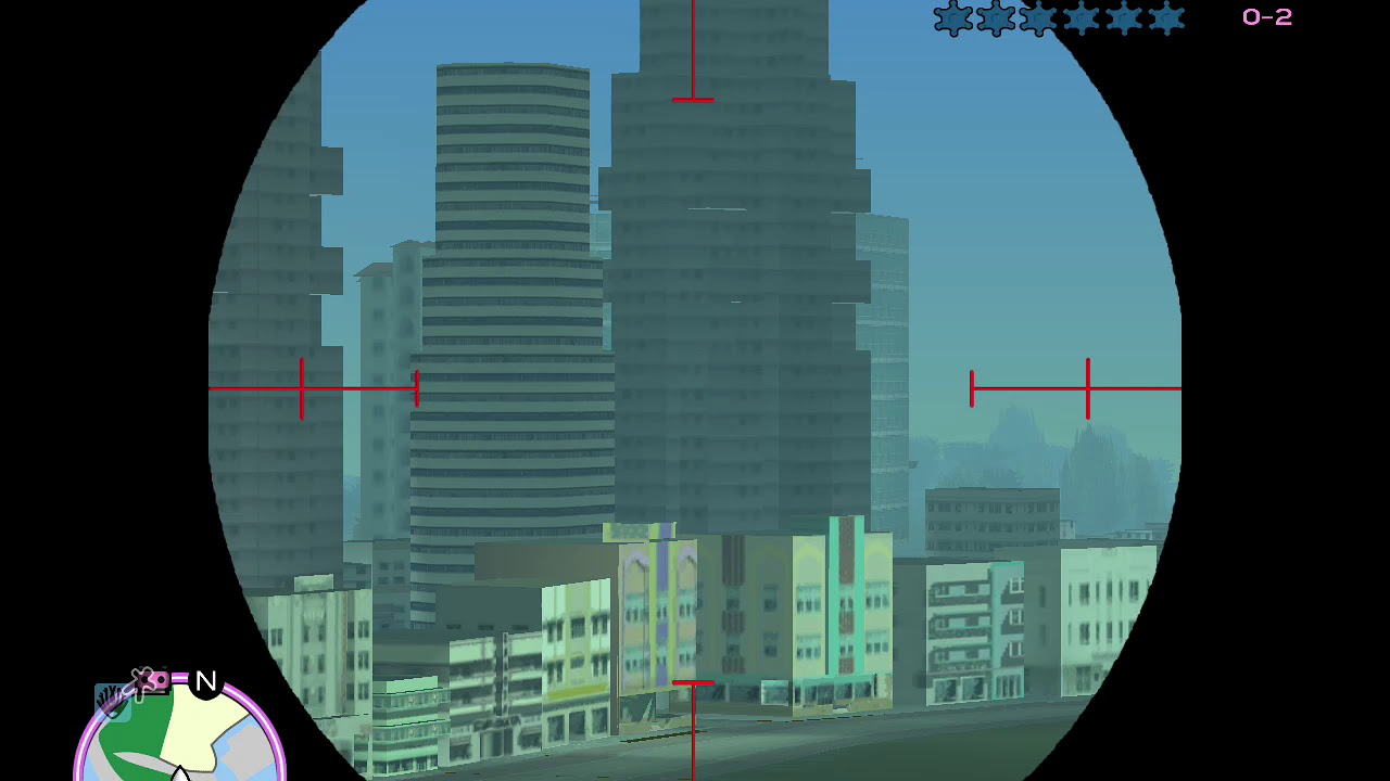 gta vice city draw distance mod на дальность прорисовки