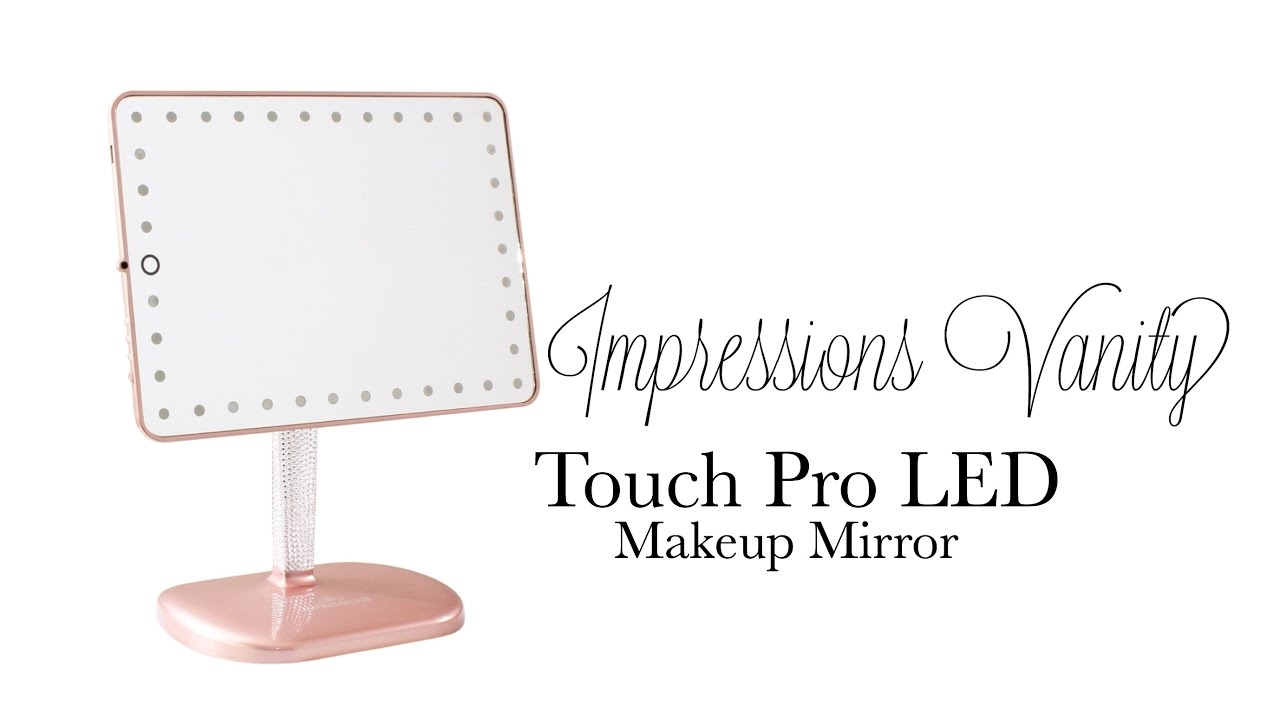 Impressions Vanity Brittany Bear Touch Pro Led Makeup Mirror Review