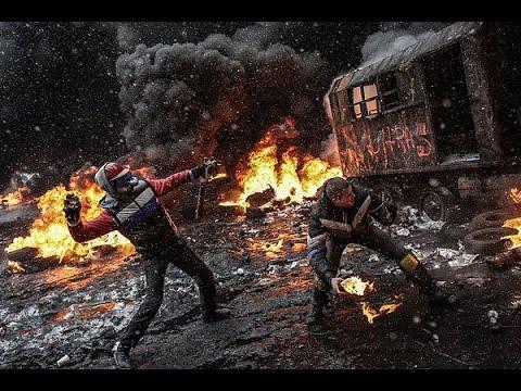 """Евромайдан, самые """"горячие"""""""