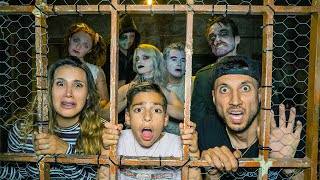 LAST To Leave HAUNTED PRISON Wins $1,000 Challenge! | The Royalty Family