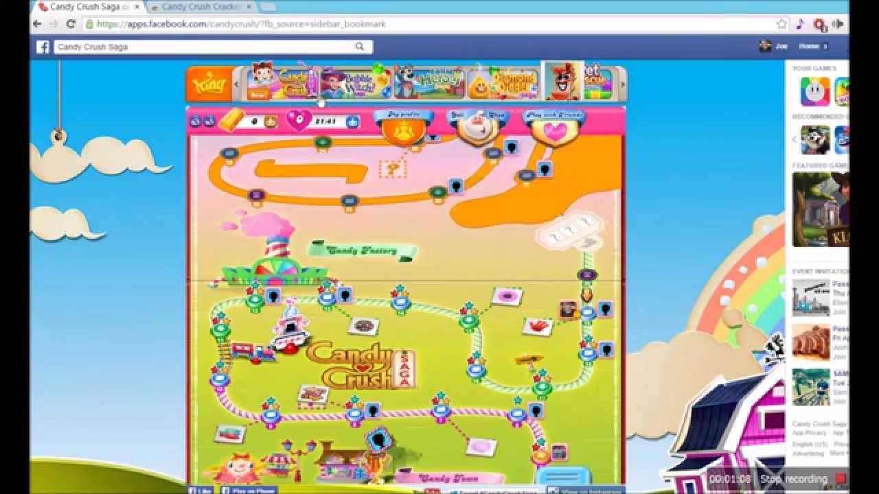 cracker candy crush saga mac