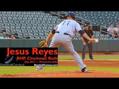 Jesus Reyes, RHP, Cincinnati Reds