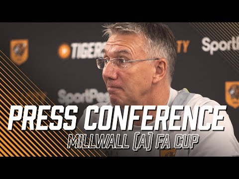 Millwall (a) | Emirates FA Cup 3rd Round | Nigel Adkins Press Conference