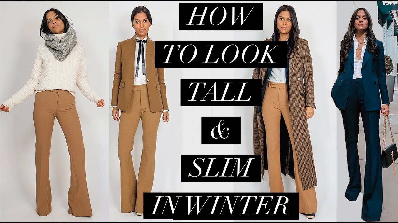 How To Look Taller Slimmer Petite Tips For Layering Winter Outfits Maria Teresa Lopez Youtube Winter Layering Outfits Winter Outfits Layering Outfits