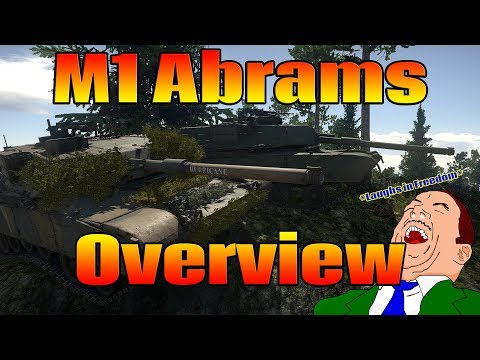 War Thunder: M1 Abrams Overview (M1 Abrams Gameplay)