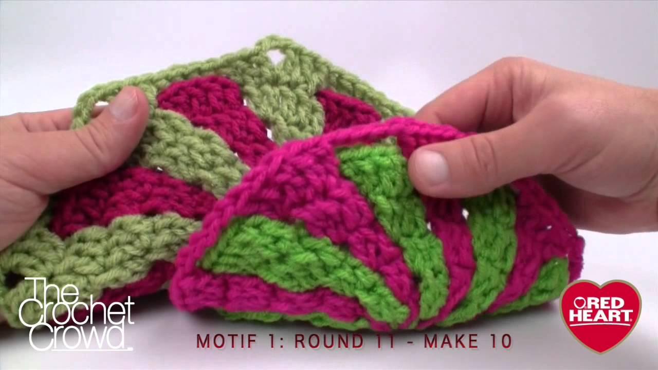 Crochet Peppermint Swirl Afghan Free Pattern   The WHOot