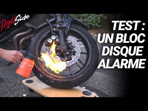 TEST : On essaye un bloc-disque alarme