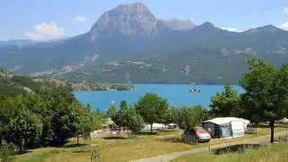 Lac de Serre-Poncon, juli  2005.