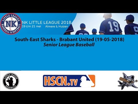 South-East Sharks - Brabant United (Almere, 19-05-2018)