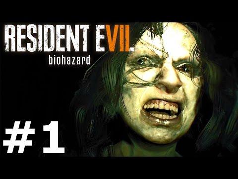 RESIDENT EVIL 7: BIOHAZARD Gameplay Walkthrough Part 1 Full Game PS4 Pro
