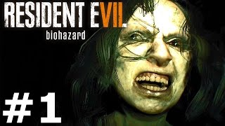 RESIDENT EVIL 7: BIOHAZARD Gameplay Walkthrough Part 1 Ending Full Game PS4 Pro