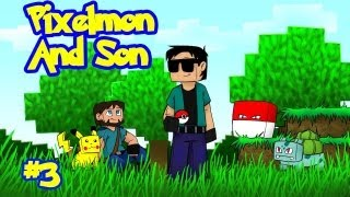 "Minecraft: Pixelmon Ep.3 ""Poke-balls and Capturing Pikachu"""