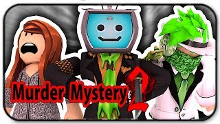 Sacrifcing My Friends To Win In Roblox Murder Mystery 2 with Zachary and Okaygameplay