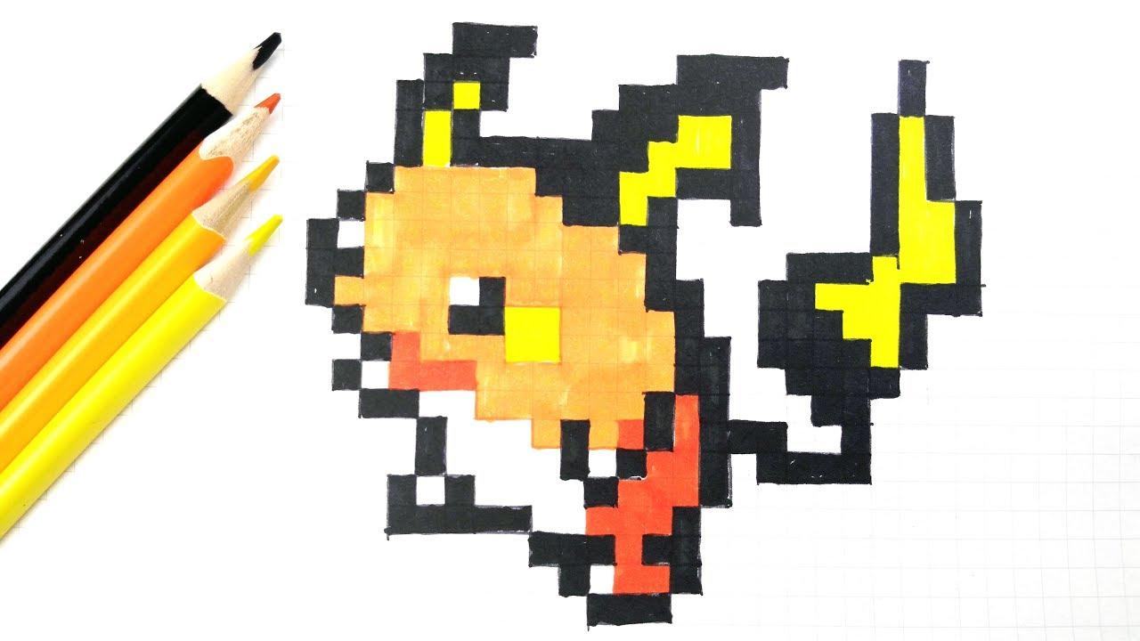 026 Raichu Pixel Art Youtube