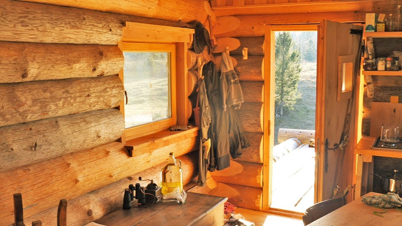Building a Traditional Log Cabin / 3 Years From First Log Till ...