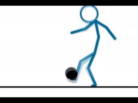 Amazing Stickman Football Skills Animation Youtube