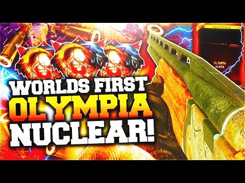 """BLACK OPS 3 - WORLDS FIRST """"OLYMPIA"""" SHOTGUN NUCLEAR! (NEW BLACK OPS 3 DLC WEAPONS)"""