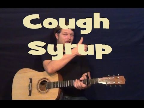Cough Syrup (Young the Giant) Easy Strum Guitar Lesson How to Play Tutorial