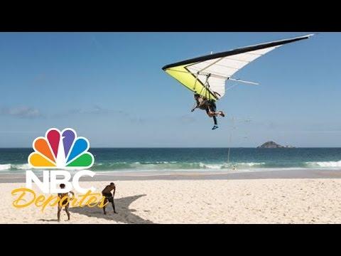 Parapente en Río de Janeiro | FIFA Desde Brasil | NBC Deportes