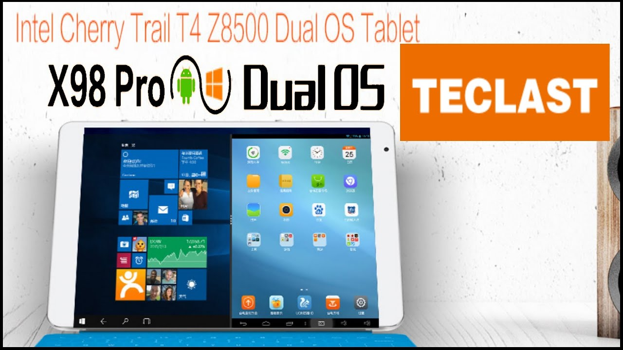 Defective Teclast x98 Pro Android 5 1/Win 10 Dual Boot