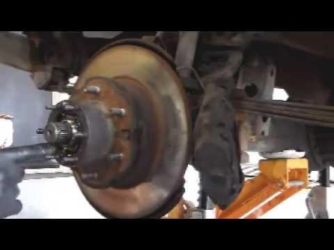 1985 toyota 4x4 pickup front brake rotor change youtube rh youtube com Brake Pad Anatomy Mazda 6 Brake Pads DIY