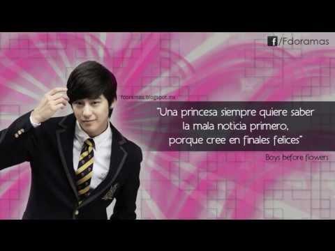 Frases de Doramas (Boys Before Flowers) - YouTube
