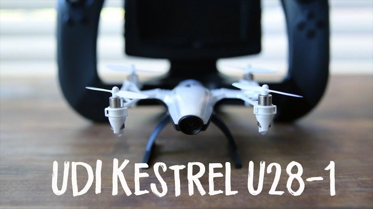 UDI Kestrel U28-1 Unboxing and Flight - YouTube