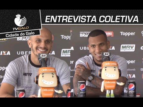 Entrevista Coletiva: Fábio Santos e Otero (12/03/2018)