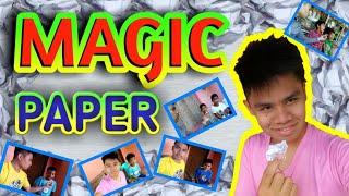 MAGIC PAPEL   nag magic ako sa mga bata , nagulat sila sa tuwa 🤔😂