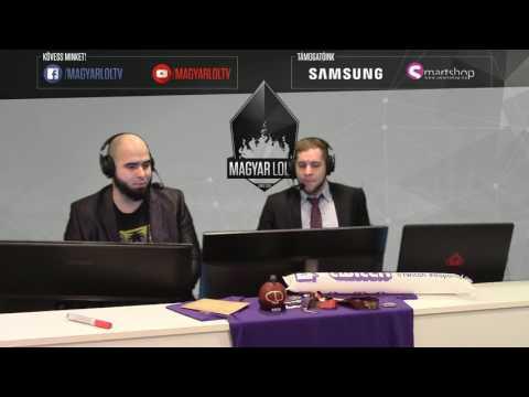N6 vs OP (BO3) 1. | League of Legends Roadshow Szeged selejtező