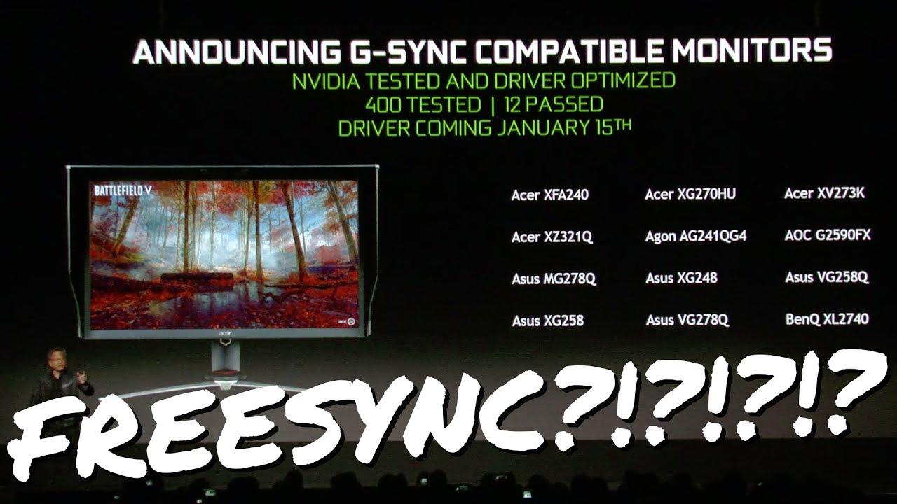 Nvidia Will Support Adaptive Sync (Freesync)! - Page 3