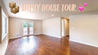 EMPTY HOUSE TOUR OF OUR NEW HOME!
