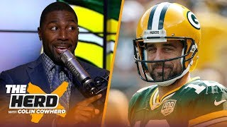 Greg Jennings Joins Colin To Discuss Packers Vs. Seahawks On Tnf | Nfl | The Herd