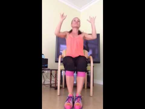 chair exercise justin timberlake american girl salon zumba gold part 1 youtube