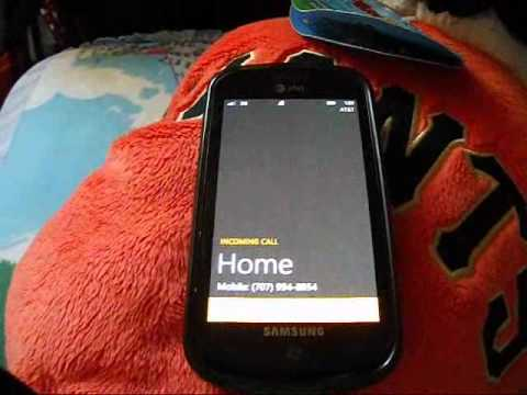 Windows Phone 7 Mango Update Custom Ringtone