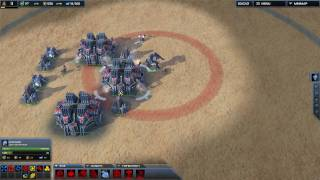 Supreme Commander 2 - Triple factory rush! (HD)