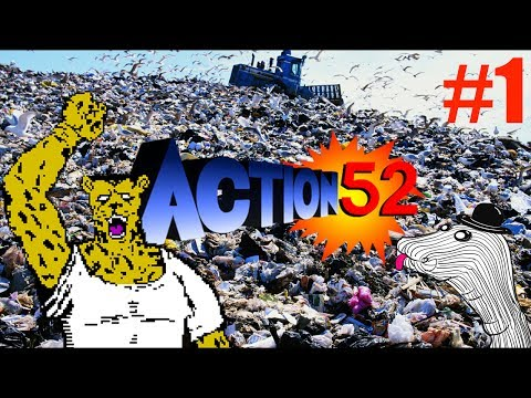 Absolute Garbage - Action 52 - PART 1 of 2 (NES)