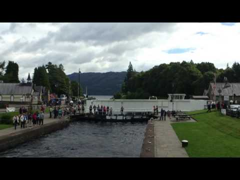 Fort Augustus Caledonian Canal Loch Ness