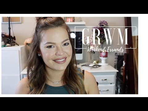 Get Ready With Me: Hair, Makeup & Outift:  Weekend Errands thumbnail