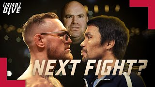 This should be Conor McGregor's next fight! Not Pacquiao